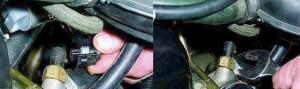 Где находятся датчики охлаждающей жидкости на ниве шевроле