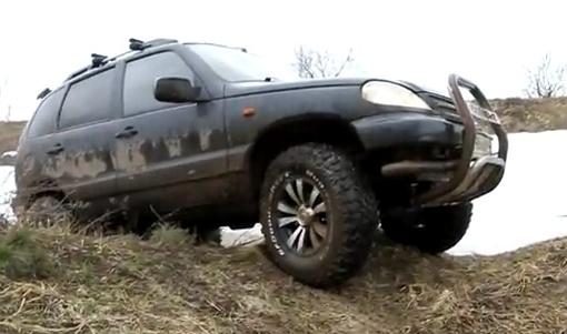 Шнива в грязи