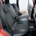 Задние сиденья в разложенном виде