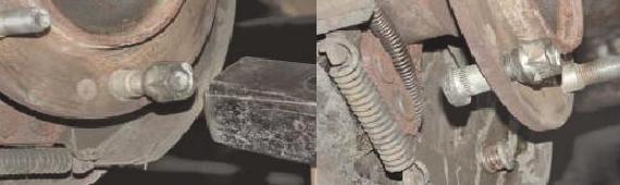 Земена шпильки колеса