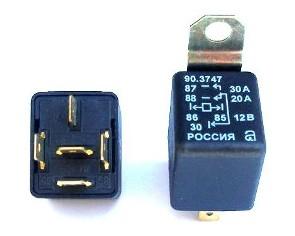 Расположение контактов устройства