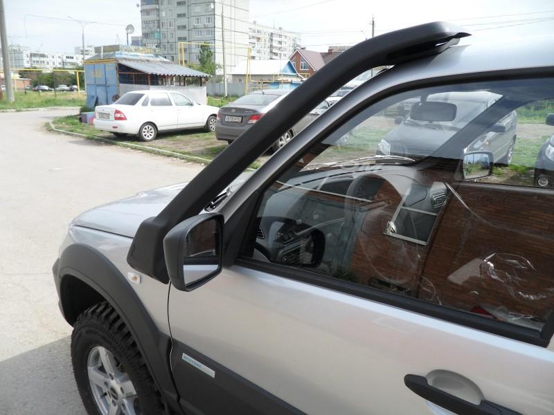 Шнива с установленным воздухозаборником