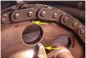 Установка меток грм нива шевроле инжектор