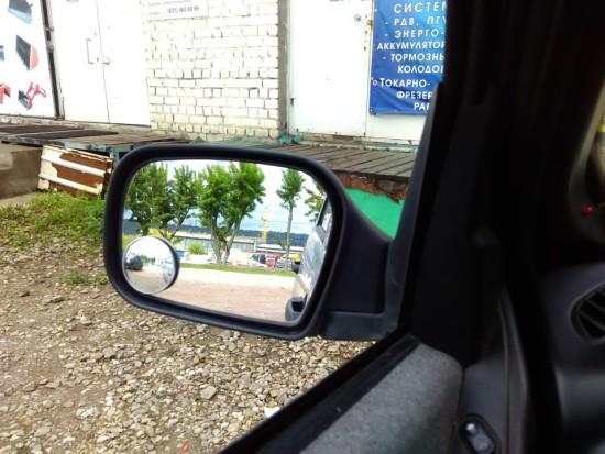 Вид с сиденья водителя