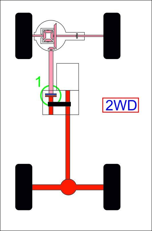 Схема расположения механизма